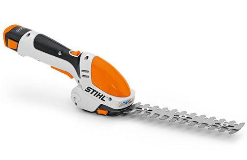 Akumulatorowe nożyce do cięcia krzewów i trawy z akumulatorem i ładowarką – HSA 25.