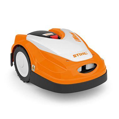 Inteligentny robot koszący z funkcją mulczowania do małych trawników – RMI 422.