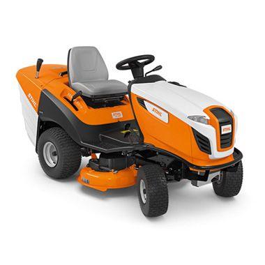Komfortowy traktor ogrodowy z pojemnym koszem na trawę – RT 5097